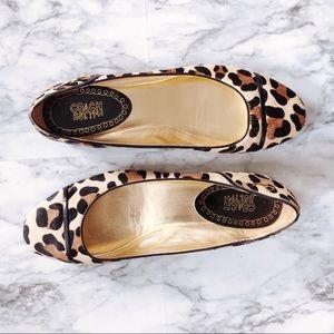 Coach | Leopard Print Flats